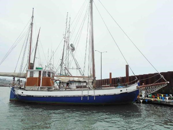 Colin Archer Gaff Ketch 1935 Used Boat for Sale in Astoria, Oregon -  BoatDealers ca