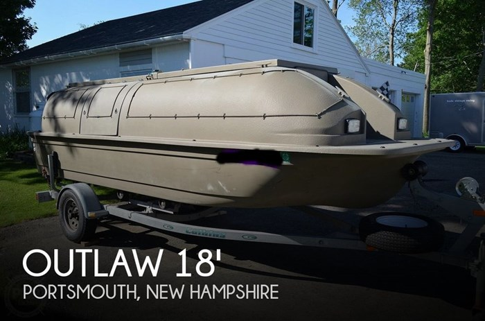 Duck Hunting Boats For Sale >> Outlaw Duck Hunting 18 1999 Used Boat For Sale In Portsmouth New