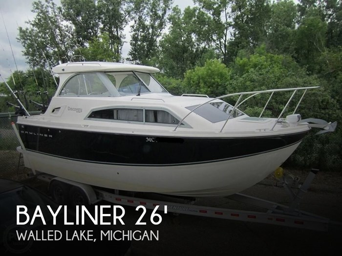 2012 Bayliner 266 Discovery Photo 1 sur 20