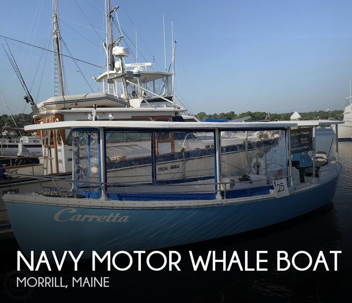 1987 Navy Motor Whale boat 26 Photo 1 sur 20