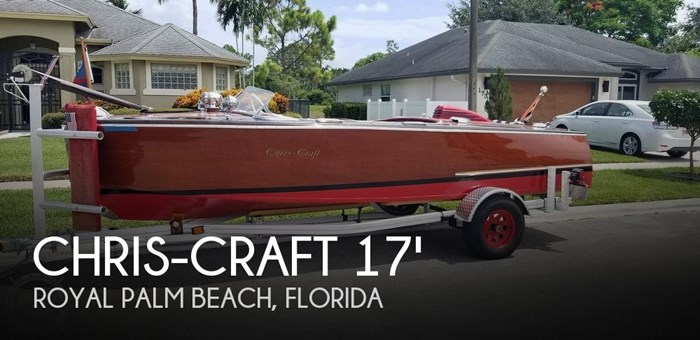 1948 Chris-Craft Custom Deluxe 17 Photo 1 sur 20