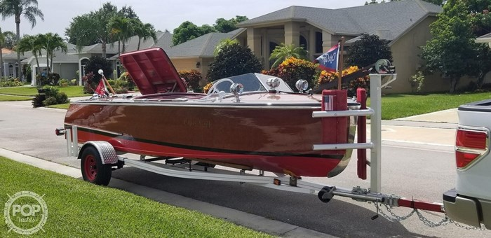 1948 Chris-Craft Custom Deluxe 17 Photo 11 sur 20
