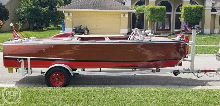 1948 Chris-Craft Custom Deluxe 17 Photo 12 sur 20
