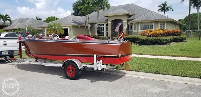1948 Chris-Craft Custom Deluxe 17 Photo 14 sur 20