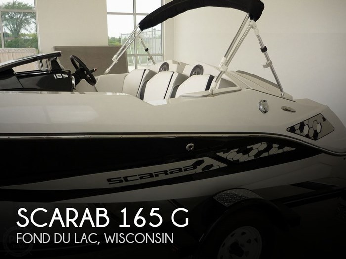 Scarab 165 G 2018 Used Boat for Sale in Fond Du Lac, Wisconsin -  BoatDealers ca