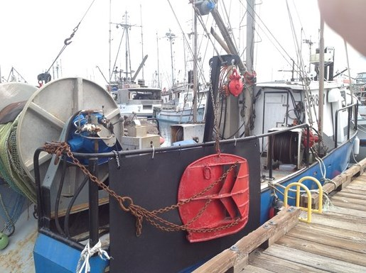 1979 Door Boat Shrimper.  Boat and/or License for sale Photo 2 of 9