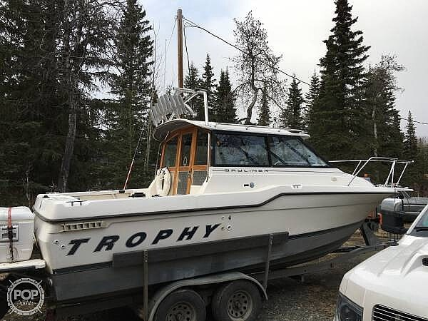 Bayliner Trophy 2359 WA 1995 Used Boat for Sale in Kenai, Alaska -  BoatDealers ca