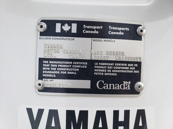 1997 Yamaha 1200GP Photo 6 of 6