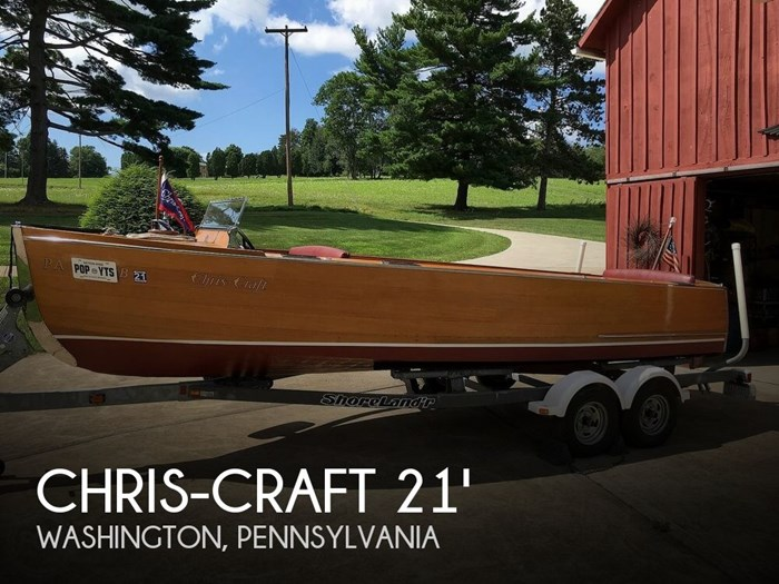 1936 Chris-Craft Utility Deluxe #507 Photo 1 sur 20