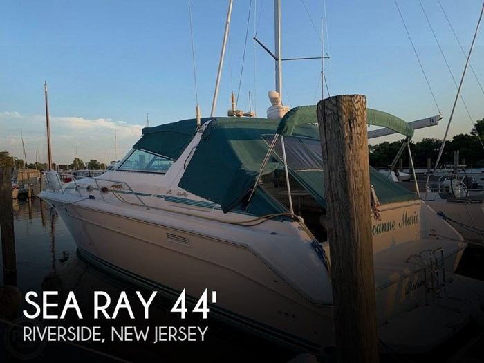1994 Sea Ray 440 Sundancer 2010 Iveco 370 TURBO Diesels Photo 1 of 20
