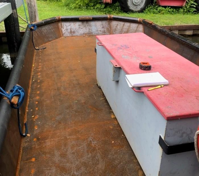 2020 2020 24'6″ x 9′ Steel Work Boat w/ Wheelhouse - New Build Photo 3 sur 5