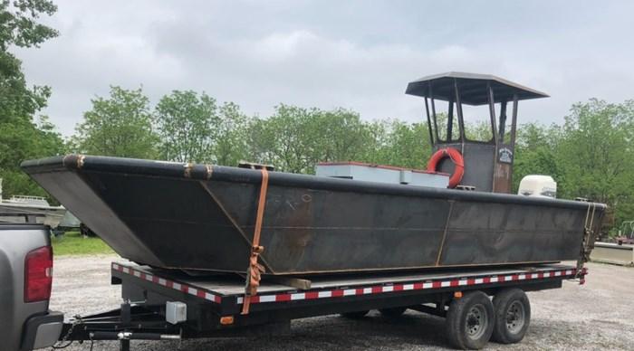 2020 2020 24'6″ x 9′ Steel Work Boat w/ Wheelhouse - New Build Photo 1 sur 5