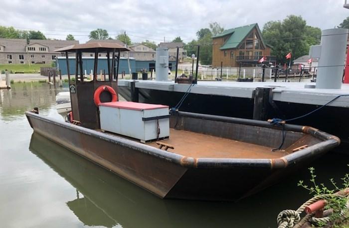 2020 2020 24'6″ x 9′ Steel Work Boat w/ Wheelhouse - New Build Photo 2 sur 5