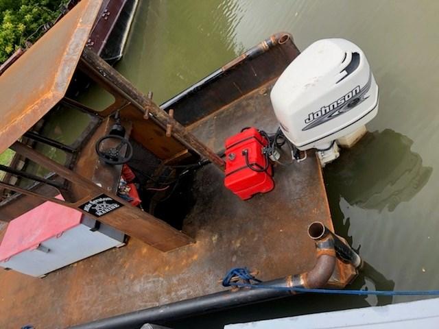 2020 2020 24'6″ x 9′ Steel Work Boat w/ Wheelhouse - New Build Photo 4 sur 5
