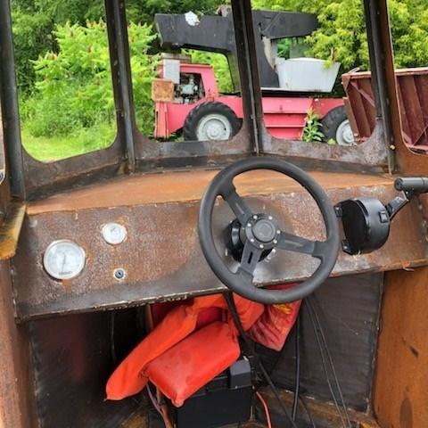 2020 2020 24'6″ x 9′ Steel Work Boat w/ Wheelhouse - New Build Photo 5 sur 5