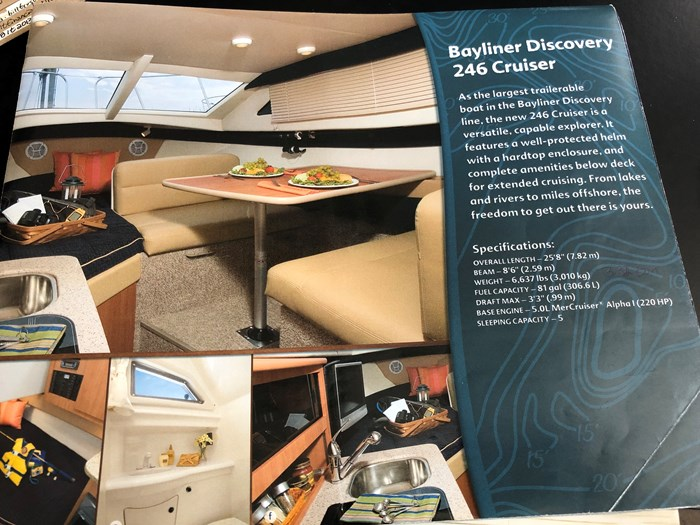2007 Bayliner Discovery 246 EC Photo 15 of 15