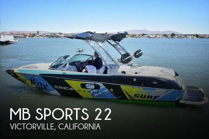 2016 MB Sports Tomcat F22 Photo 1 sur 20