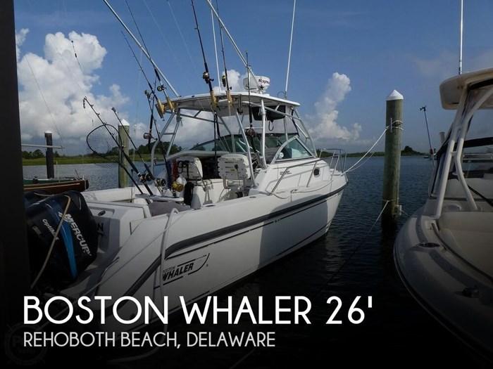 2001 Boston Whaler 275 Conquest Photo 1 sur 20