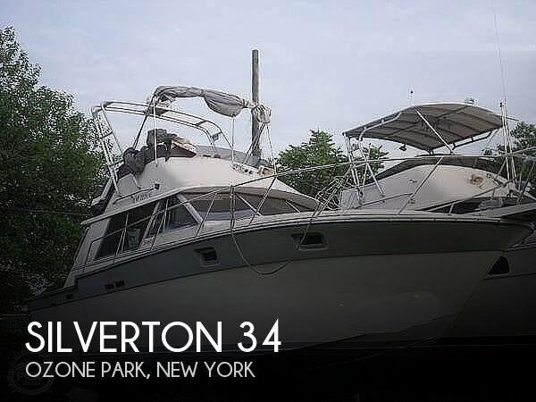 1988 Silverton 34 Convertible Photo 1 sur 20