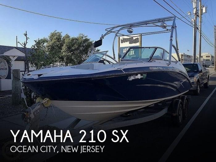 2012 Yamaha 210 SX Photo 1 of 21