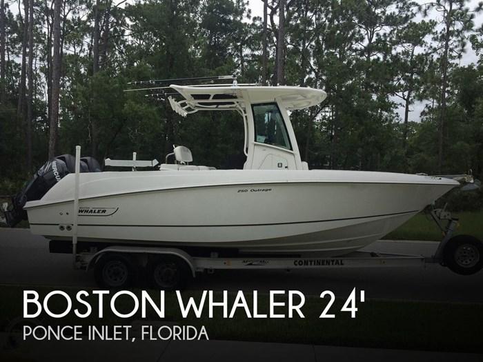 2014 Boston Whaler 250 Outrage Photo 1 sur 20