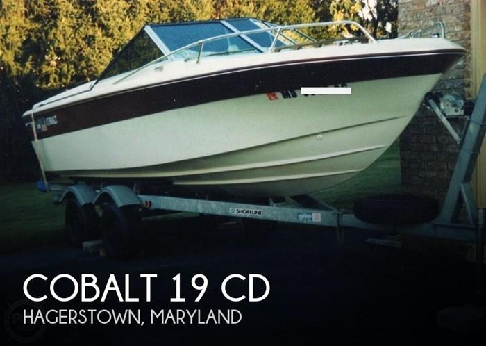 1977 Cobalt 19 CD Photo 1 sur 21