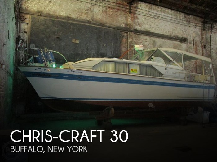 1965 Chris-Craft Constellation 30 Photo 1 sur 20