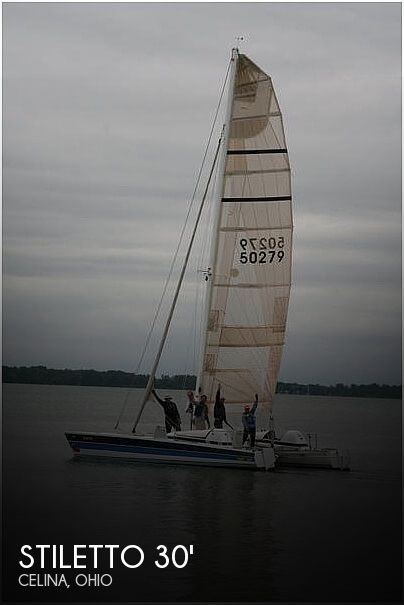 1987 Stiletto 30' Photo 1 sur 21