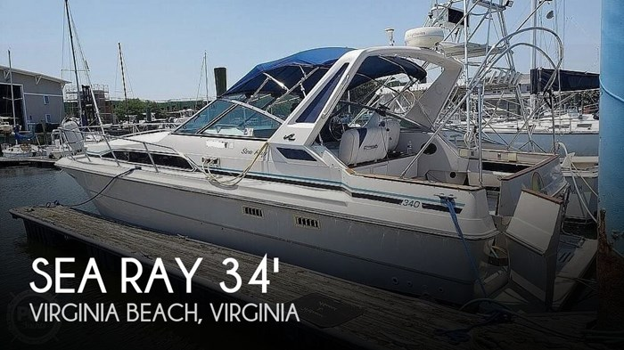 1988 Sea Ray 340 Express Cruiser Photo 1 of 20