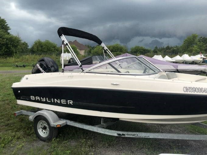 2012 BAYLINER 170 Photo 1 of 7