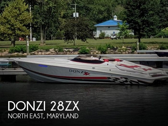 2001 Donzi 28ZX Photo 1 sur 20