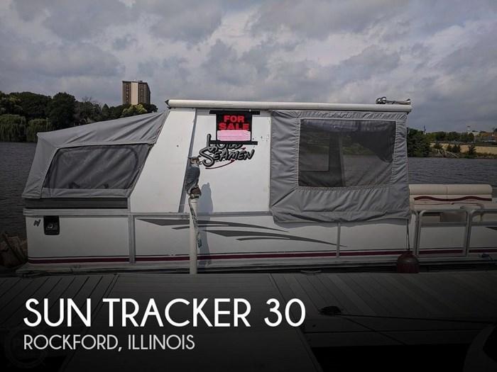 1997 Sun Tracker Party Hut 30 Photo 1 sur 20