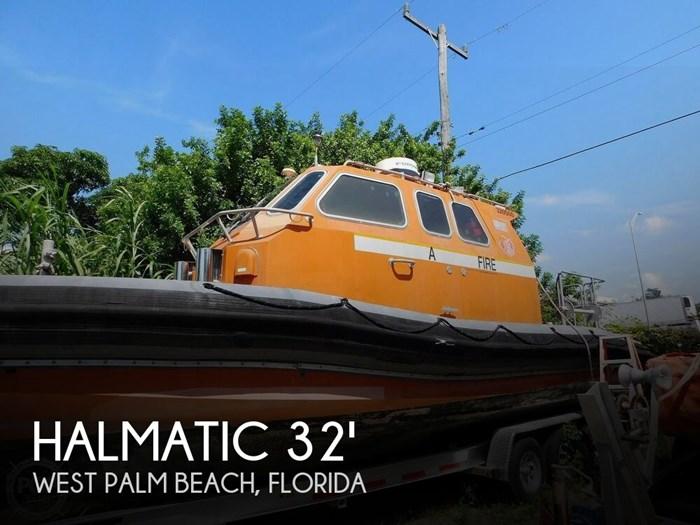 2002 Halmatic USCG Pacific 32 Photo 1 sur 20