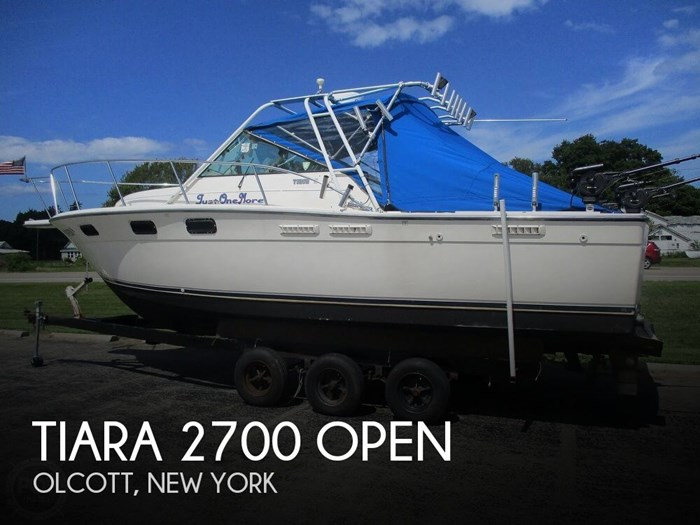1989 Tiara 2700 Open Photo 1 of 21