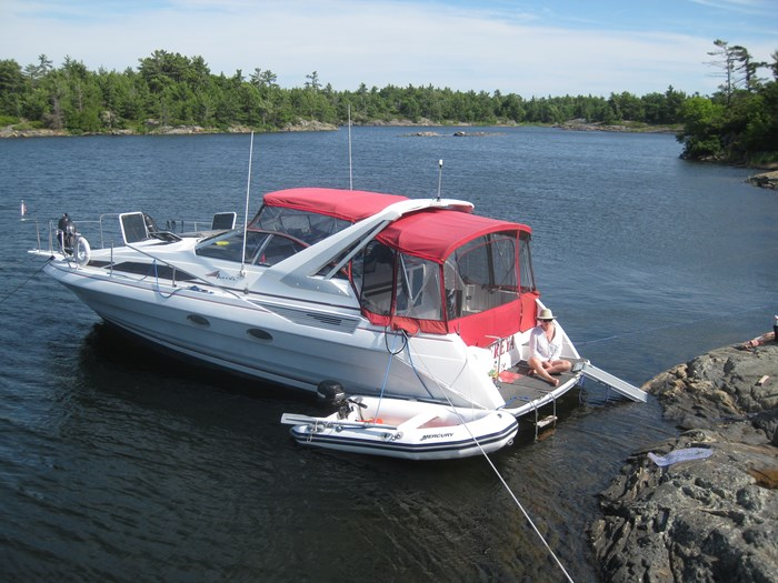 1990 Bayliner 3555 Photo 1 sur 14