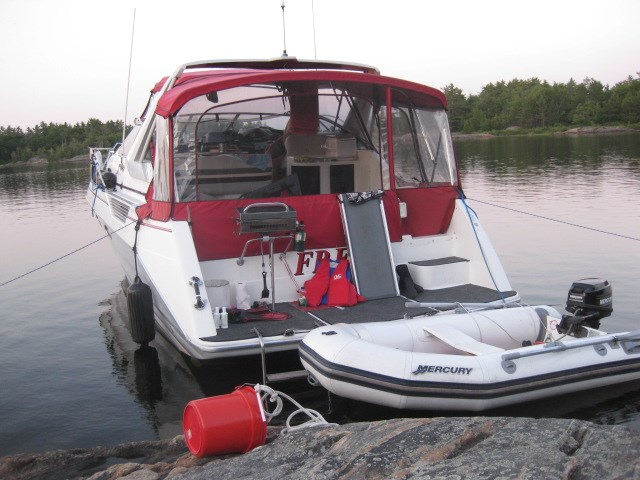 1990 Bayliner 3555 Photo 6 sur 14