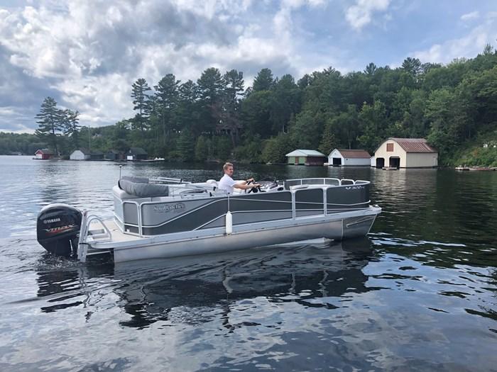 2018 SunCatcher Pontoons by G3 Boats 322 FC Photo 1 sur 9