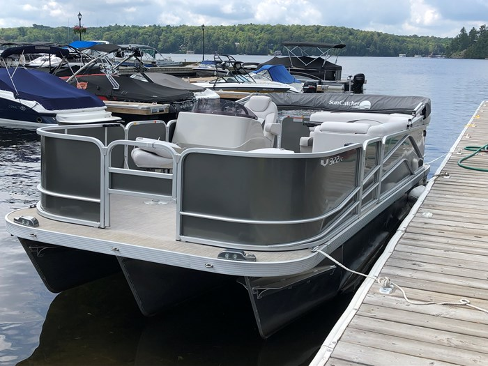 2018 SunCatcher Pontoons by G3 Boats 322 FC Photo 3 sur 9