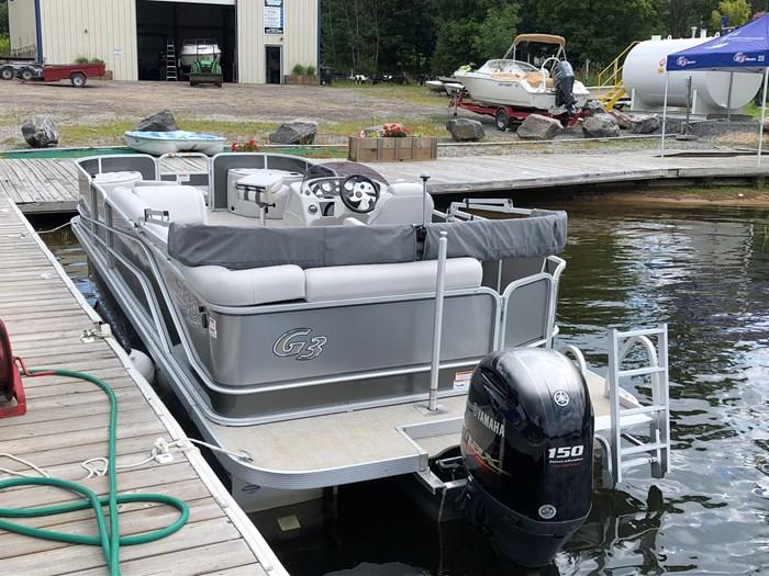 2018 SunCatcher Pontoons by G3 Boats 322 FC Photo 4 sur 9