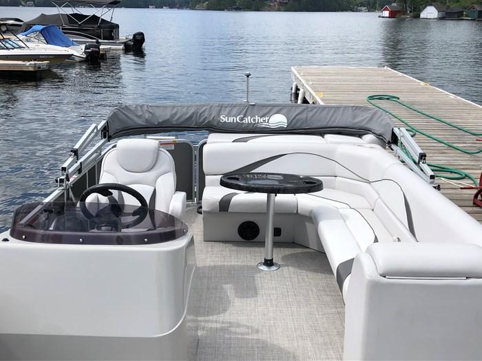 2018 SunCatcher Pontoons by G3 Boats 322 FC Photo 5 sur 9