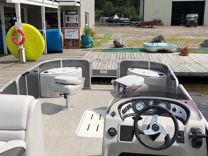 2018 SunCatcher Pontoons by G3 Boats 322 FC Photo 6 sur 9