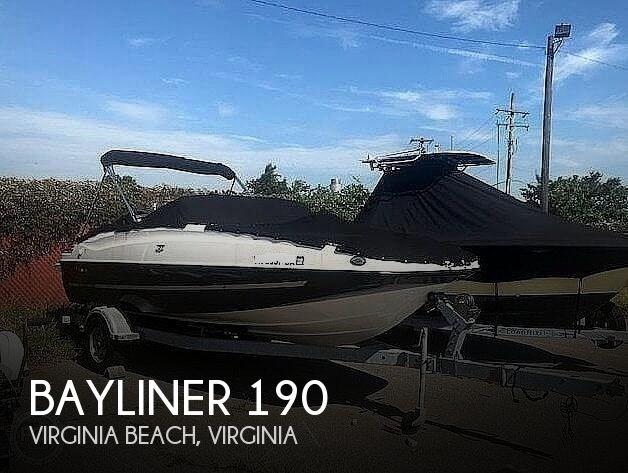 2016 Bayliner 190 Deckboat Photo 1 sur 20