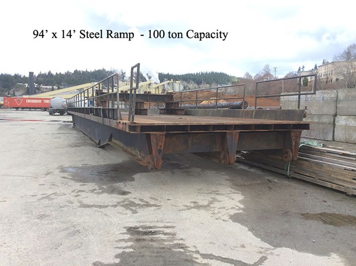 1984 Ramp 100  Ton Capacity Photo 1 sur 6