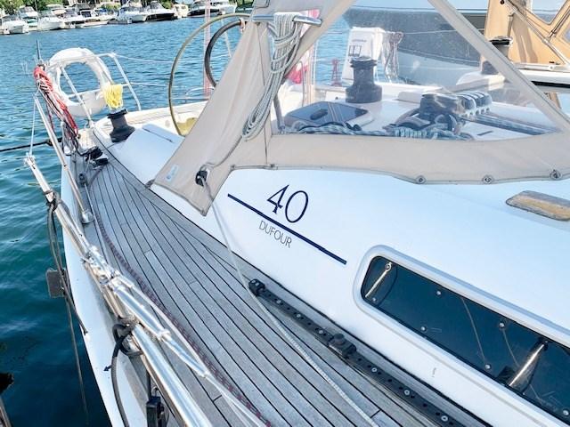 2004 Dufour Yachts 40 Performance Photo 4 sur 36