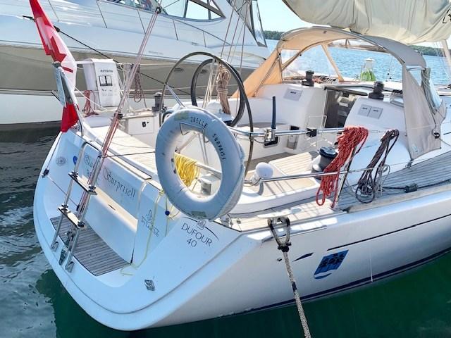 2004 Dufour Yachts 40 Performance Photo 5 sur 36
