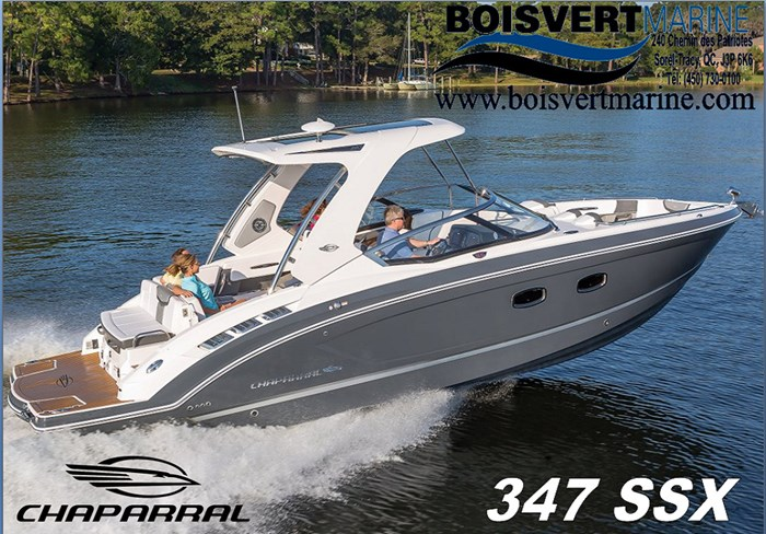 2021 Chaparral 347 SSX Photo 1 of 35