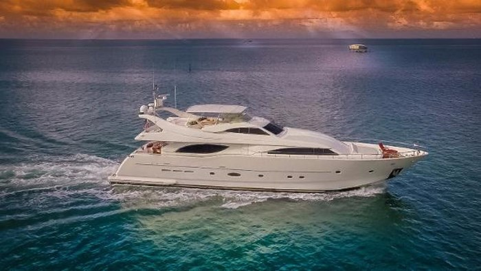 2004 Ferretti Yachts Custom Line 94 Photo 1 of 41