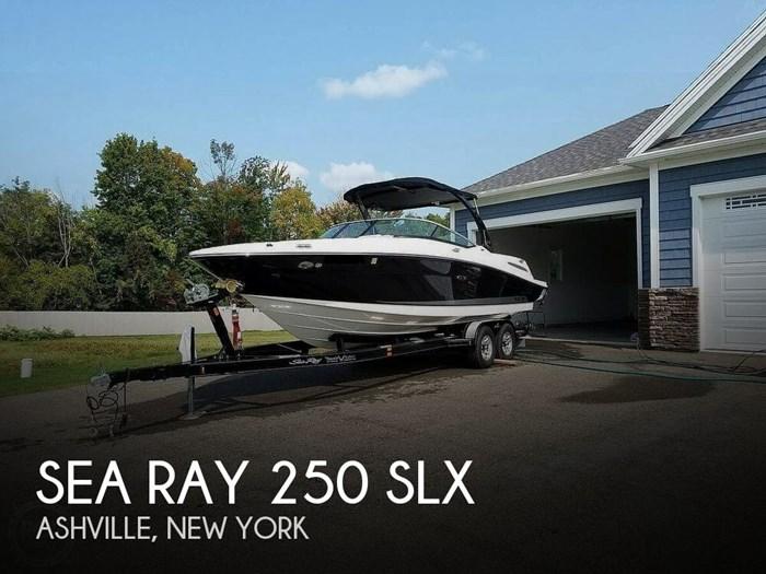 2012 Sea Ray 250 SLX Photo 1 sur 20