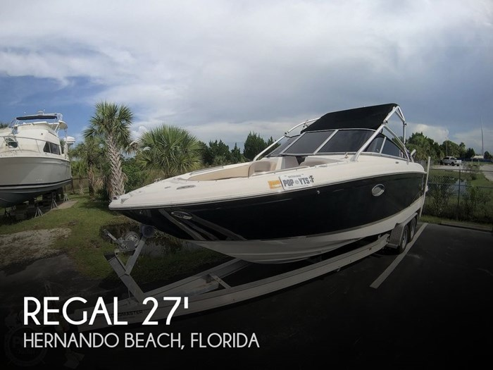 2007 Regal 2700 ES Bowrider Photo 1 sur 20