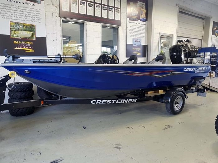2018 Crestliner 1850 Bass Hawk Bucket Photo 1 sur 9